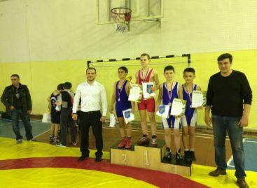 «Серебро» и «золото» областного турнира завоевали борцы из Гиганта