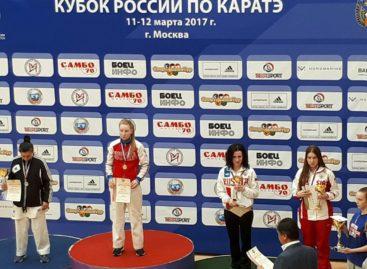 «Бронза» Кубка России по каратэ — у сальчанки Анастасии Кузнецовой
