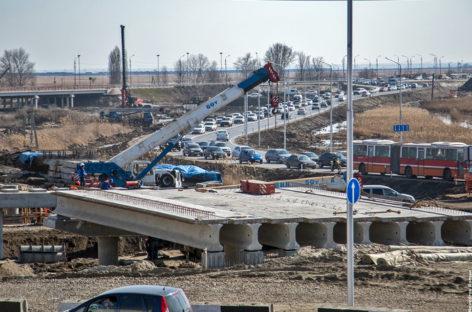 Схема движения на Южном подъезде к Ростову изменена на период реконструкции