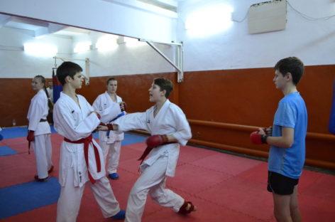 Сальские каратисты привезли из Калмыкии 11 медалей