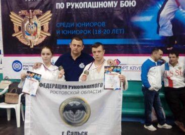 В Первенстве России по рукопашному бою будут участвовать сальчане