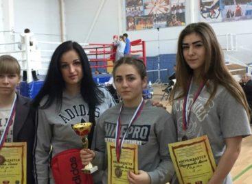 Сальчанки взяли три призовых места в первенстве ЮФО по боксу
