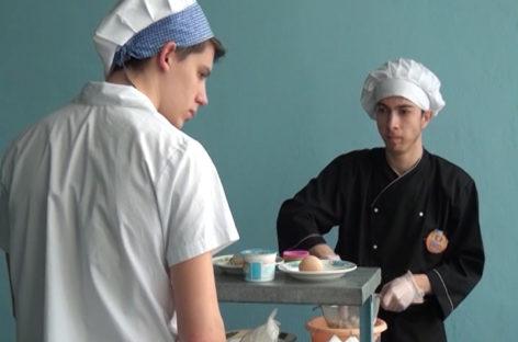 Конкурс поваров в Сальском индустриальном техникуме