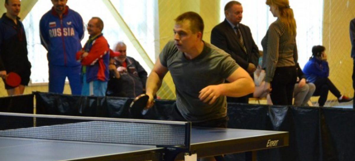 Кубок Ростовской области по настольному теннису проходит в спорткомплексе
