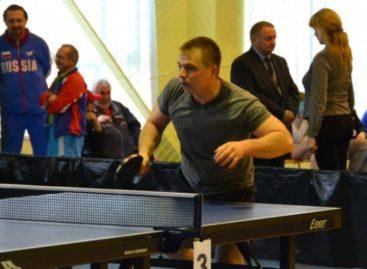 Сальчанин Руслан Мамзин— третий в области по настольному теннису