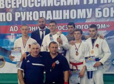 Сальчанин Александр Зайцев стал победителем Всероссийского турнира по рукопашному бою