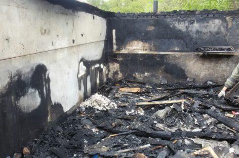 В Сальске жарка шашлыка закончилась пожаром