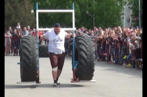 Соревнования по силовому экстриму прошли в Сальске