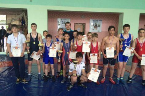 Гигантовские борцы привезли 14 медалей из Орловки