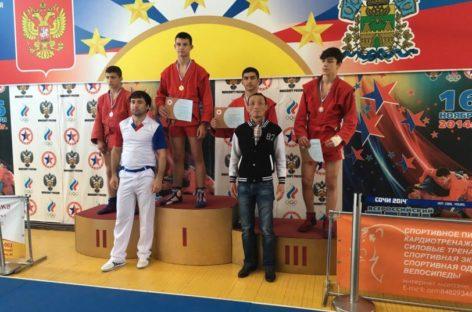 Сальчанин взял «бронзу» чемпионата ЮФО по самбо