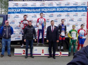 Сальчанин стал третьим во Всероссийских соревнованиях по велоспорту на шоссе