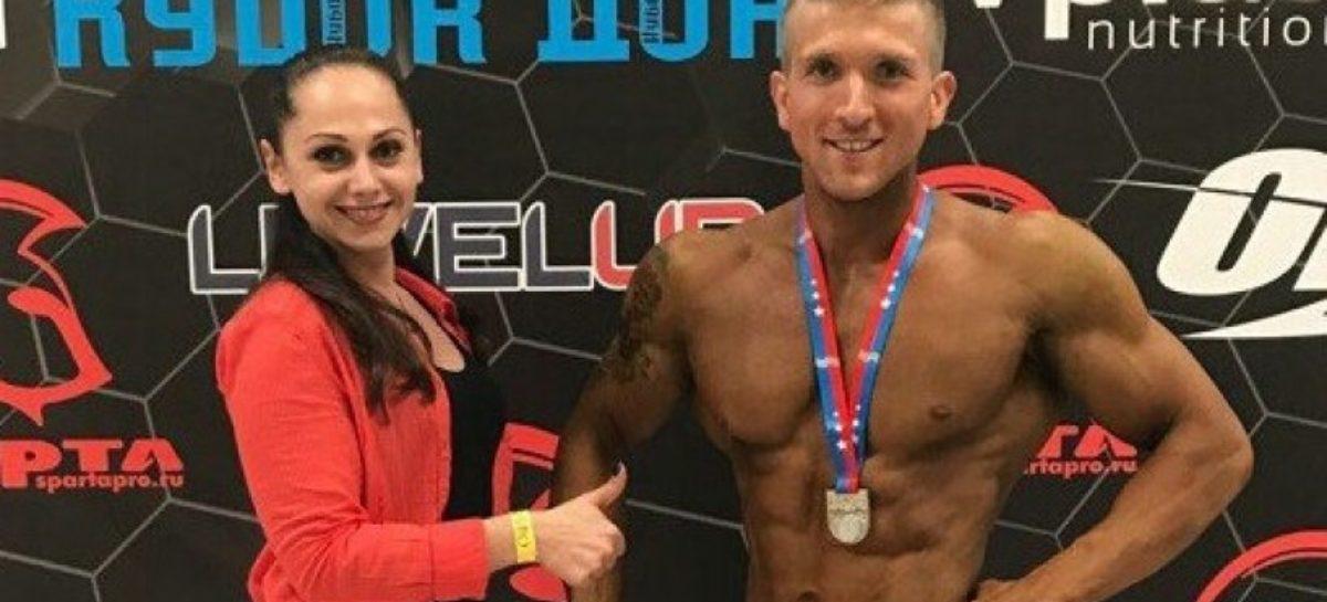 Алексей Иванов дважды стал серебряным призером соревнований по бодибилдингу