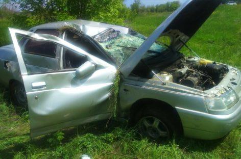 В Сальском районе в аварии погиб водитель «десятки»
