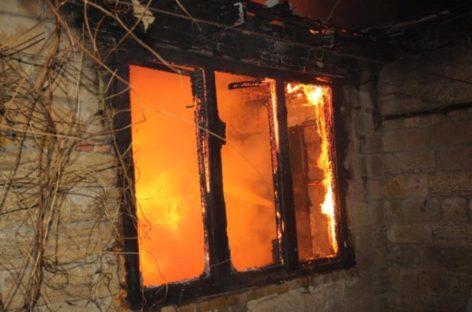 В Сальском районе произошел пожар в частном доме