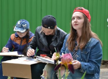 Персональной выставки удостоилась 14-летняя сальская художница