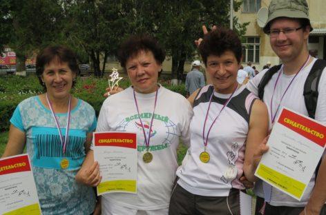Жители села Ивановка соревновались в триатлоне