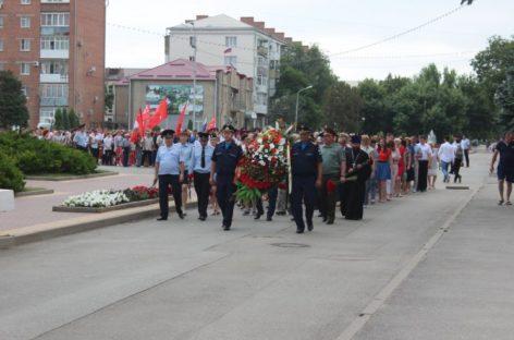 Сальчане почтили память погибших в годы войны