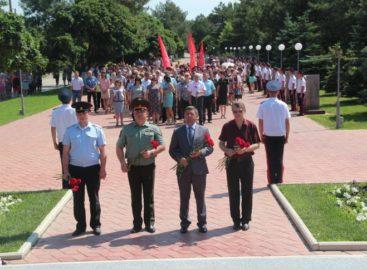 В День памяти и скорби в Сальске пройдет церемония возложения