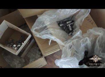 Фальсифицированный алкоголь производил житель Сальска на грязном складе