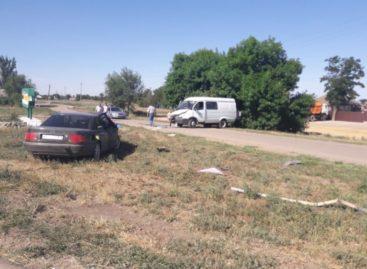 В Сальском районе пьяный водитель «Ауди» не справился с управлением