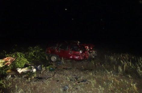 В Новом Егорлыке врезался в дерево и опрокинулся ВАЗ-210930