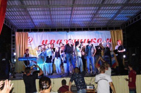 Рок-фест в поселке Гигант собрал сотни зрителей
