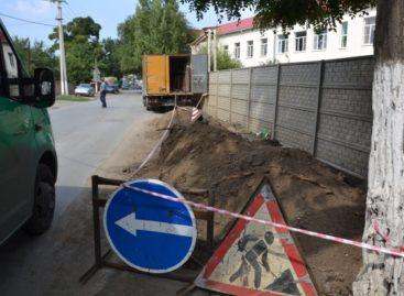 В Сальске до конца сентября реконструируют теплосети