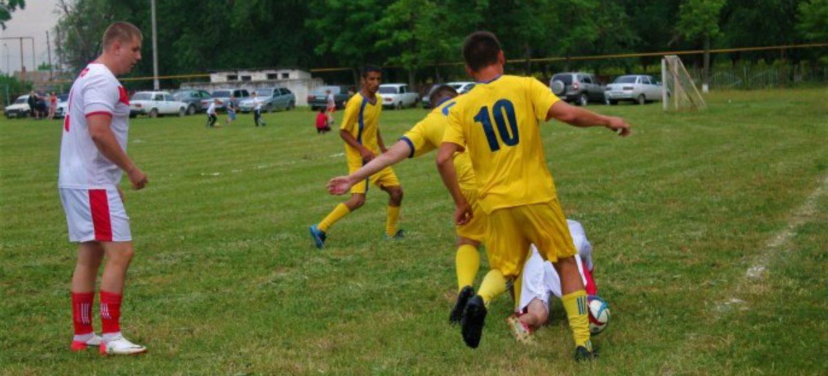 Матчи 13-го тура районного чемпионата по футболу пройдут 20 августа