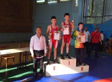 Две медали из Мартыновки привезли борцы Сальского района