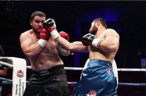 Боксер из Сальска Гасан Гимбатов одержал вторую победу в профессиональном боксе