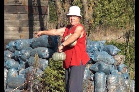 Сальчанка Любовь Кукарека отметила свой 70-летний юбилей