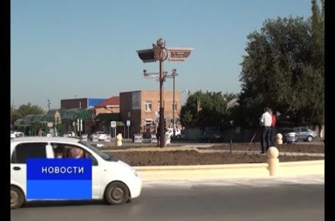 В Сальске установили стелу «Историческая верста»