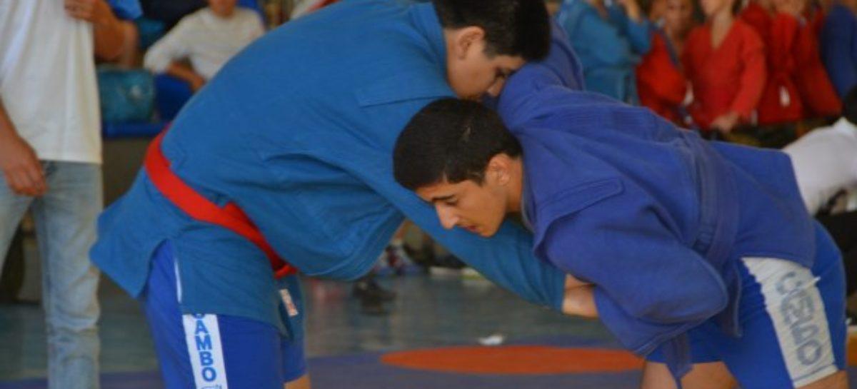 В Сальске соревновались самбисты со всей области