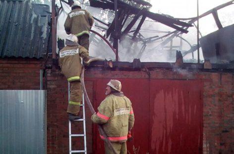 Двадцатый за неделю пожар вспыхнул в Сальском районе