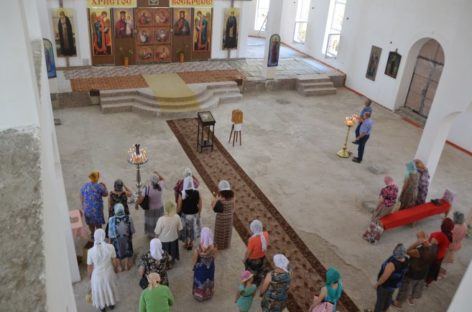 В соборе святых равноапостольных Кирилла и Мефодия начались регулярные богослужения