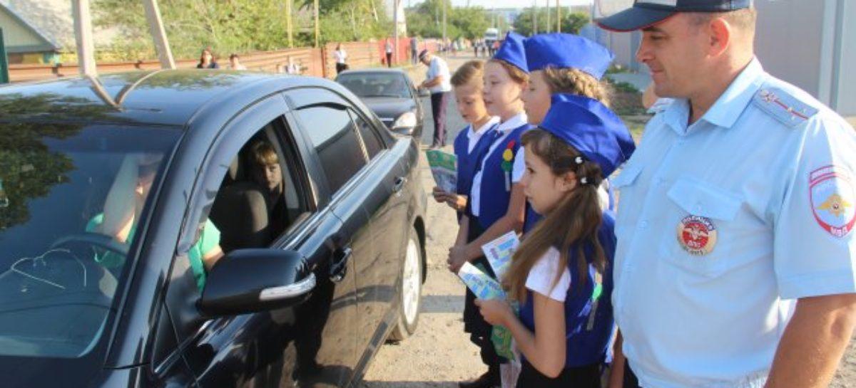 В Сальском районе стартовала акция «Пристегни ребёнка!»