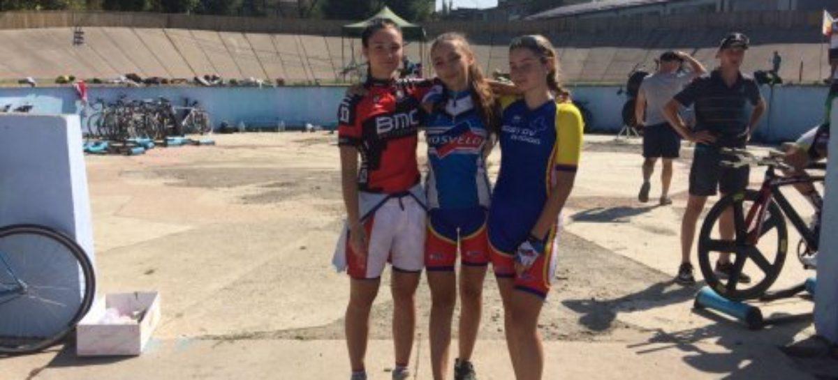 Сальчане завоевали четыре золотые медали первенства России по велоспорту на треке