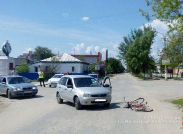 В Сальске в аварии пострадал подросток