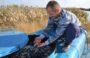В Сандате в пруд выпустили 20 тысяч мальков толстолобика