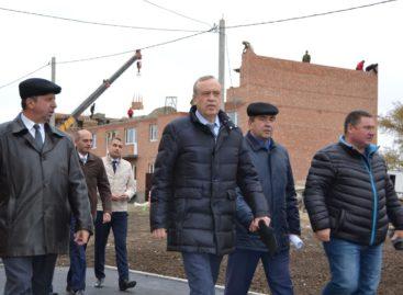 Сальск с рабочим визитом посетил замгубернатора Сергей Сидаш
