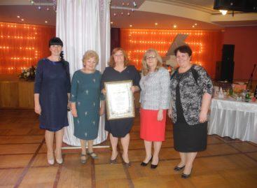 Сальчанка получила Благословенную грамоту от митрополита Меркурия