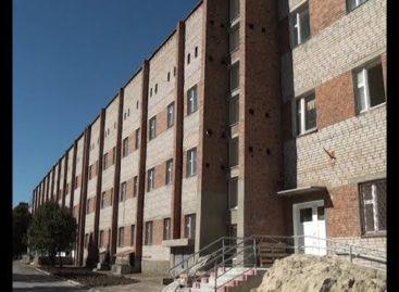 На какой стадии ремонт в новом здании детской поликлиники