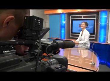 Ученики лицея № 9 попробовали себя в роли ведущих новостей