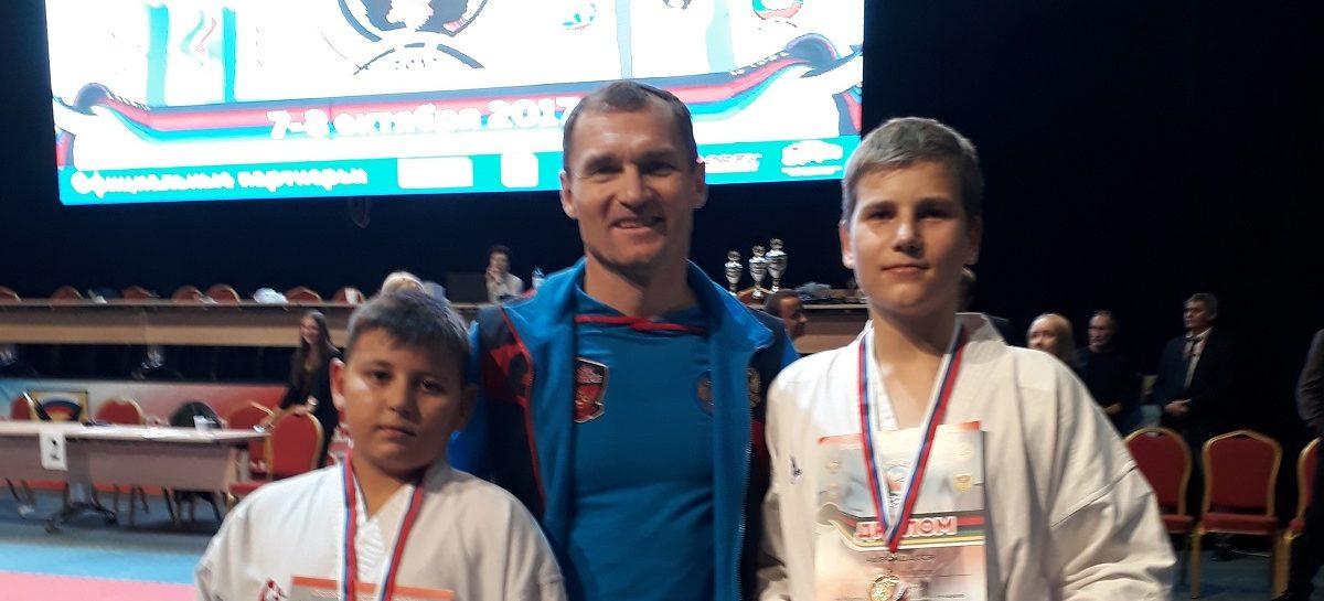 Сальские каратисты стали призерами Всероссийских соревнований в Орле