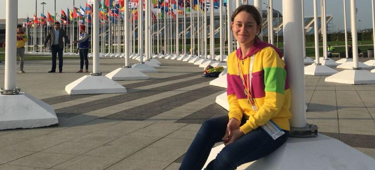 Сальчанка участвует во Всемирном фестивале молодёжи и студентов
