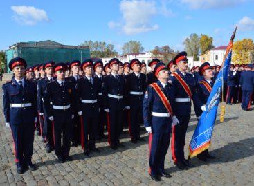 Сальский казачий лицей в четвертый раз победил на губернаторском смотре