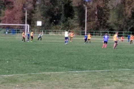 Юные сальские футболисты обыграли соперников из Песчанки
