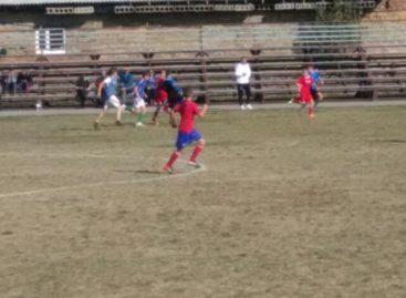 Сальчане стали лидерами группового этапа областного первенства по футболу