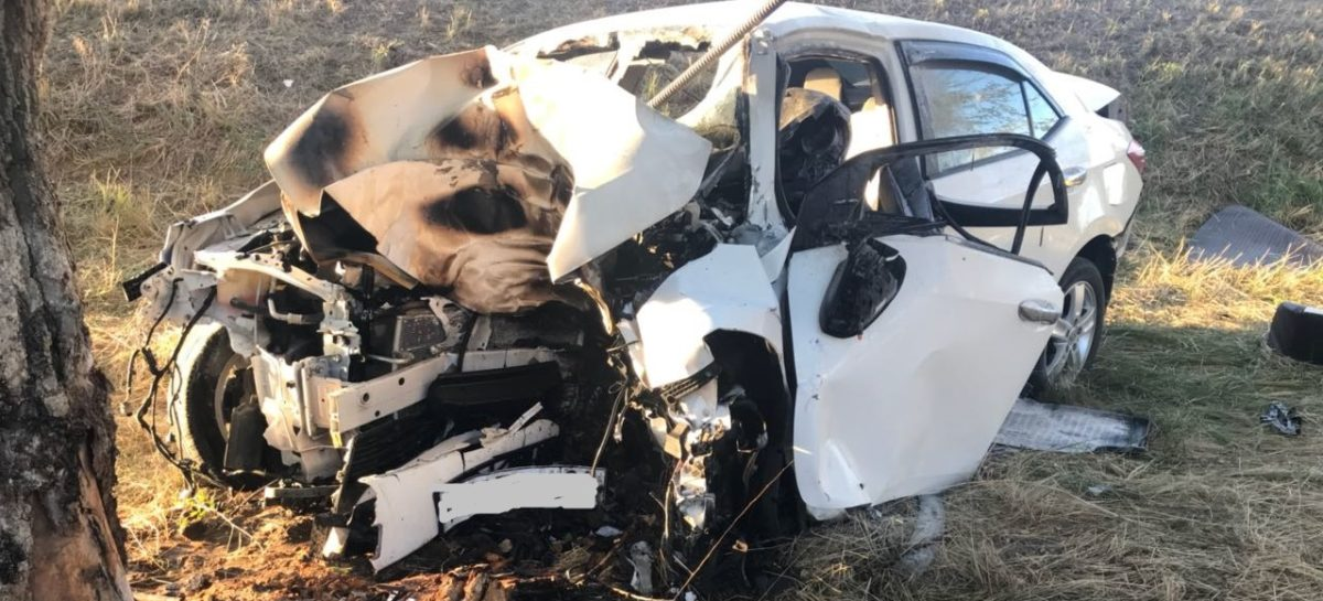В Сальском районе при аварии погибли двое мужчин