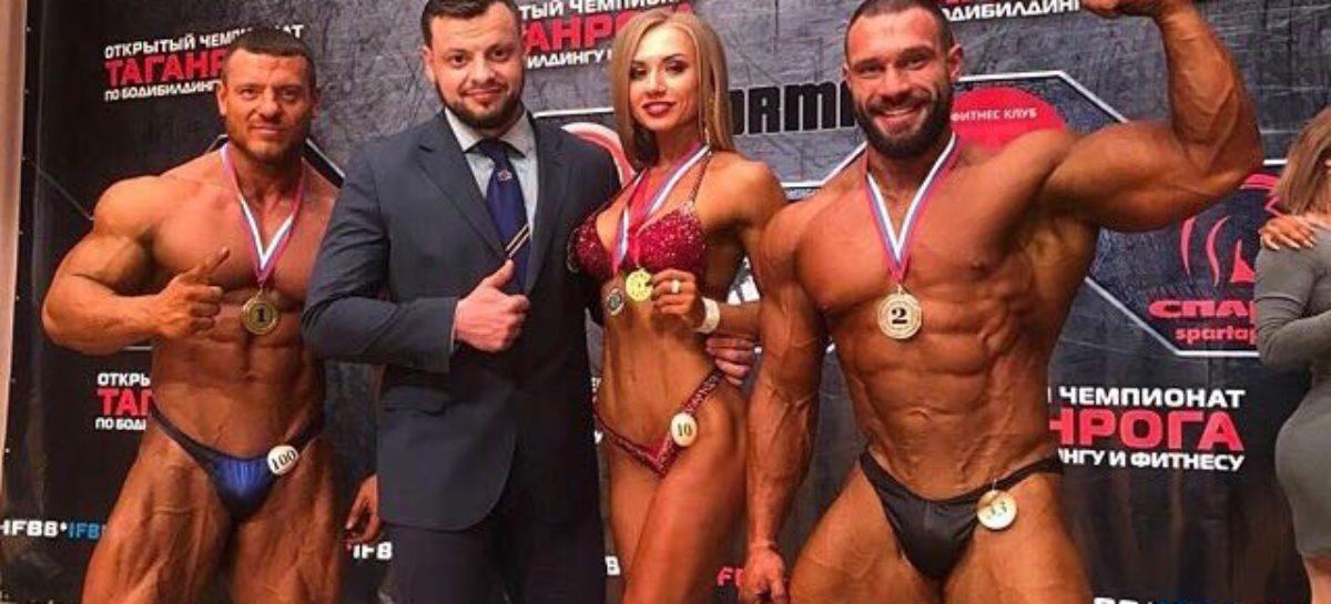Сальчанка стала дважды чемпионкой соревнований по бодибилдингу и фитнесу